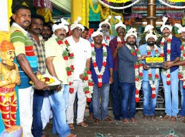 Sivakarthikeyan and Samantha's new movie pooja held at Chennai. Celebs like Sivakarthikeyan, Simran, Soori, Ponram, RD Raja, D Imman, Balasubramaniem, Napoleon, Yugabharathi graced the event.