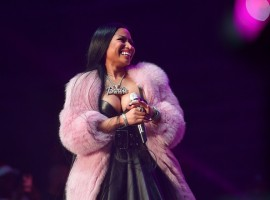 Nicki Minaj performs at Birthday Bash ATL The Pop Up Edition Concert at Philips Arena on June 17, 2017 in Atlanta, Georgia.
