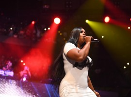 Rapper Remy Ma performs onstage at Hot 107.9 Birthday Bash: Pop Up Edition at Philips Arena on June 17, 2017 in Atlanta, Georgia.