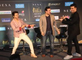Actor Saif Ali Khan says Bollywood is incomplete without the presence of filmmaker Karan Johar. Saif will join Karan to host the 18th edition of the International Indian Film Academy (IIFA) Awards in New York next month.