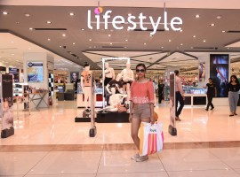 Bollywood Actress Radhika Apte spotted at Lifestyle showroom.