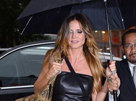 Heidi Klum seen out in Manhattan.