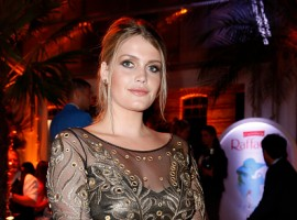 Lady Kitty Spencer attends the Raffaello Summer Day 2017.