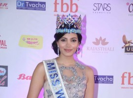 The 54th Femina Miss India World 2017 winner is Manushi Chhillar from Haryana, while the first runner-up is Sana Dua from Jammu and Kashmir and the second runner-up is Priyanka Kumari from Bihar. The event was held at Yash Raj Studios in Mumbai on Sunday night. Manushi, born to doctor parents, studied in St. Thomas School in Delhi and Bhagat Phool Singh Government Medical College for Women in Sonepat.