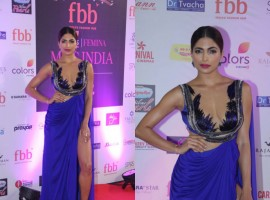 Beauty pageant Parvathy Omanakuttan at Femina Miss India World 2017.