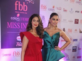 Bollywood actress Bipasha Basu and Ileana D'Cruz glam up the Miss India 2017 final.