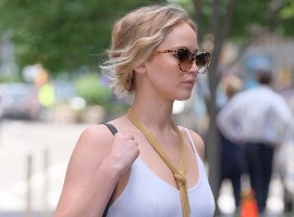 Jennifer Lawrence images are making us blush.
