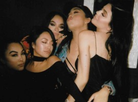 Kylie Jenner seduces her friend in new instagram still.
