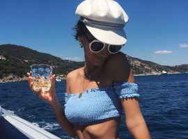 Emily Ratajkowski can't stop instagramming her Bikini-Filled Italian Vacation images.