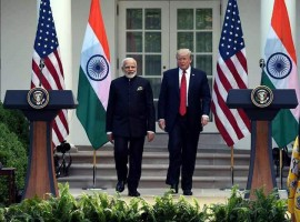 India and the US on Monday reiterated their commitment to cooperate in the fight against international terrorism even as the two sides agreed to boost economic cooperation following the first ever meeting between Prime Minister Narendra Modi and President Donald Trump.