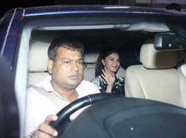 Jacqueline Fernandez spotted at Salman Khan's Ramdan 2017 Party.