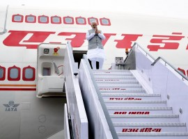 Prime Minister Narendra Modi returned to India early on Wednesday morning after his three-nation tour.