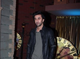 Actor Ranbir Kapoor at the special screening of on the sets of reality show Sabse Bada Kalakar.