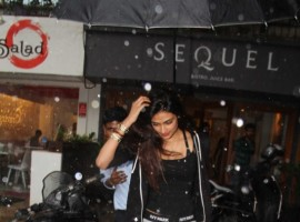 Bollywood Actress Athiya Shetty spotted at Bandra Restaurant.