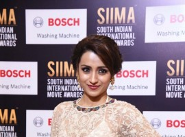 Trisha Krishnan spotted at SIIMA Awards 2017- Day 2.