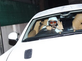 Actor Ranveer Singh gifts himself an Aston Martin on his Birthday.