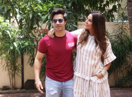 Varun Dhawan snapped at 'No Filter with Neha Show' in Mumbai.
