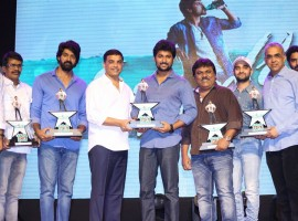 Telugu movie Nenu Local 100 days function held during Fidaa audio Launch. Nani, Dil Raju, Trinadha Rao Nakkina, Naveen Chandra graced the event.