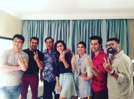 The trio of Salman khan, prolific producer Sajid Nadiadwala and director David Dhawan were reunited after 21 years, last weekend thanks to Judwaa 2. Salman Khan, the protagonist of Judwaa happily decided to be a part of the sequel of this hit film which is being helmed by the same team. While Varun Dhawan will be seen playing the lead in this sequel, Salman Khan will be doing a very special cameo for the film. The team has been shooting in Mumbai and even abroad for the film and this weekend even Salman shot for his portions in Mumbai.