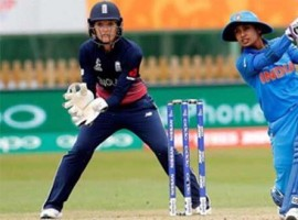Indian women's cricket team skipper Mithali Raj on Wednesday surpassed former England captain Charlotte Edwards to become the highest run-scorer in the One-Day Internationals (ODI) at the Bristol County Ground here. Mithali achieved the feat during Wednesday's group stage match of the Women's World Cup against Australia here. She scored 69 runs from 114 balls in the match. Her innings was laced with four boundaries and one hit into the stands.