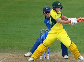 Australia skipper Meg Lanning led from the front with a brilliant unbeaten half century to guide her side to an eight-wicket win over India and seal their semi-finals spot in the ongoing Women's World Cup here on Wednesday. The Australians have now 10 points in their kitty from six outings and sit on top of the table while India are fourth on the ladder with 8 points from six matches. The Indian eves now face a must-win situation in their final group tie against New Zealand on Saturday, to qualify for the last four stage of the tournament.