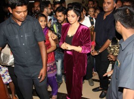 Sridevi held a special screening of her recent film 'Mom'.