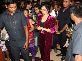 Sridevi held a special screening of her recent film 'Mom'.