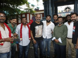 Director Venkat Prabhu's Party movie launch held in Chennai on 12th July 2017.