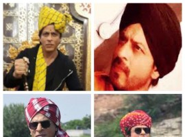 Shahrukh Khan was recently in Punjab and Rajasthan for the promotions of his upcoming film 'Jab Harry Met Sejal'. The actor was welcomed in a traditional way with all the warmth and love by the people of Rajasthan and Punjab respectively. The talented actor was even made to wear the traditional head gear also known as Pagdhi in both the states. SRK was elated by all the love and affection he got from the people of Rajasthan and Punjab. He took to his social media handle and tweeted,