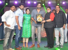 Telugu movie Ninnu Kori success meet event held last night at Vijayawada. Celebs like Nani, Nivetha Thomas, Aadhi graced the event.