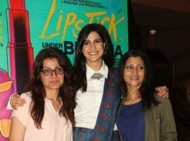 Lipstick Under My Burkha special screening pics.