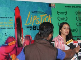 Shraddha Kapoor snapped at Lipstick Under My Burkha screening.