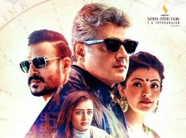 Thala Ajith will be seen as an Interpol agent on a mission to investigate a series of murders. The film also stars Kajal Aggarwal and Akshara Haasan as the leading ladies while Vivek Oberoi plays the antagonist. Produced by Sathya Jyothi Films, the film has music by Anirudh Ravichander.