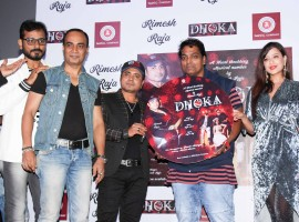 Celebs like Rimesh Raja, Ganesh Acharya, Madalsa Sharma and others spotted at Dhoka song launch.