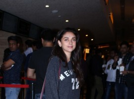 Aditi Rao Hydri spotted at Juhu PVR.