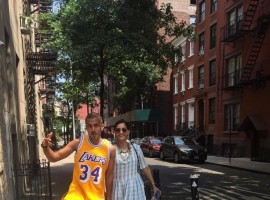 Sonam Kapoor spends perfect Sunday with rumoured boyfriend Anand Ahuja in New York.