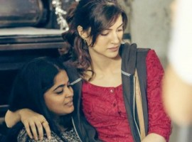 Kriti shared an image where she is sitting on Ashwiny's lap while the cameras were not rolling. The image further exhibits the bond the actor director duo shares. The image is the testimony of the comfort level Kriti and Aswhiny shared and the comforted creative bonding. The actress posted a picture on social media captioning,