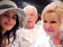 Indian actress Mallika Sherawat met US President Donald Trump's first wife Ivana Trump and says it was a