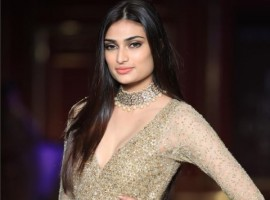 Bollywood actress Athiya Shetty dressed up in a glittery outfit looked no less than a princess for designer-duo Shyamal and Bhumika's maiden show at India Couture Week (ICW) 2017, here on Wednesday. The designer duo showcased their new couture collection titled