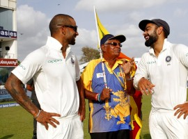 Spin twins Ravichandran Ashwin and Ravindra Jadeja took three wickets each to help India thrash Sri Lanka by 304 runs in the opening Test and take a 1-0 lead in the three-match series at the Galle International Stadium here on Saturday.