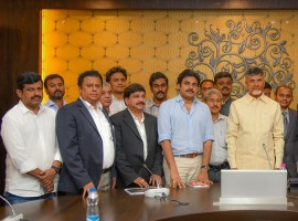 Popular Telugu film actor and Jana Sena party chief Pawan Kalyan on Monday announced that he will become fully active in politics from October. He said he would devote more time to politics from October as he would have by then completed the movies already committed. He said politics would be his first priority as he believes that people can be better served through politics. Adressing a news conference after meeting Andhra Pradesh Chief Minister N. Chandrababu Naidu over the problem of high prevalence of kidney-related ailments in Uddanam region of Srikakulam district, he said that Jana Sena was in the process of building the organization in both Andhra Pradesh and Telangana. While the process is almost completed in Telangana, two to three districts are remaining in Andhra Pradesh, he added.