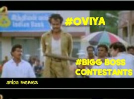 Bigg Boss Tamil: Oviya Memes goes viral in Social Media