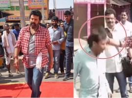 A video featuring actor Nandamuri Balakrishna slapping his assistant and making him tie his shoe laces on the sets of his new yet-untitled Telugu film, has gone viral. Balakrishna's 102nd film started rolling on Thursday. In a leaked video clip, an angry Balakrishna is seen slapping his assistant and ordering him to tie his shoe laces.