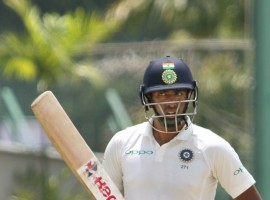 All-rounder Ravichandran Ashwin (47 not out) and stumper Wriddhiman Saha (16 not out) went undivided at lunch after adding 29 runs for the sixth wicket at the Sinhalese Sports Club here. Earlier, resuming at 344/3, India lost Pujara (133) in the second over of the day, trapped in front by part-timer Dimuth Karunaratne before Rahane (132) and Ashwin consolidated the innings with a 63-run fifth wicket stand.