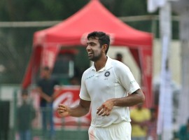 Ravichandran Ashwin clinched a five-wicket haul as India bowled out Sri Lanka for 183 runs in the first innings to take a massive lead of 439 runs at lunch on the third day of the second cricket Test here on Saturday. With Indian captain Virat Kohli deciding to enforce the follow on, the Lankans face an uphill battle in their bid to stave off defeat. Ashwin ended up with figures of 5/69 in 16.4 overs. Fast bowler Mohammed Shami bowled superbly for figures of 2/13 while left-arm spinner Ravindra Jadeja returned 2/84. Fast bowler Umesh Yadav also bagged a wicket.