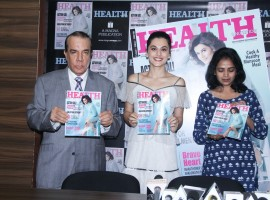 Taapsee Pannu unveils the Health & Nutrition magazine's latest issue