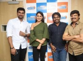 Bellamkonda Sreenivas, Rakul Preet Singh promote Jaya Janaki Nayaka at Radio City.