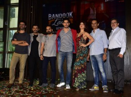 A Gentleman: Sundar, Susheel, Risky's new song 'Bandook Meri Laila' was unveiled at a venue in the suburbs of Mumbai. Sidharth Malhotra, Jacqueline Fernandez, Directors Raj Nidimoru and Krishna DK, Music directors Sachin Jigar,  along with Fox Star Studios CEO Vijay Singh were present at the song launch. 'Bandook Meri Laila' was unveiled in front of the media and audiences present, the peppy number was loved by everyone present.