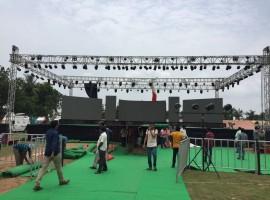 Audio launch of Nandamuri Balakrishna Paisa Vasool movie will be held at SR and BGNR College in Khammam on 17th August.