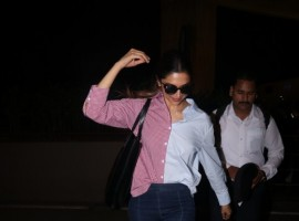Actress Deepika Padukone spotted at airport.